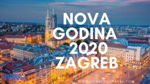 Nova godina u Zagrebu 2020.godine
