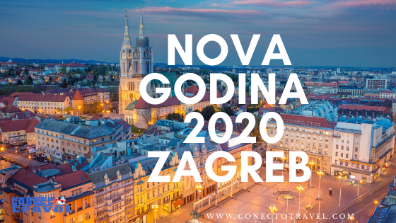 Doček nove godine 2019./2020. u Zagrebu